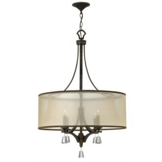 Fredrick Ramond Lighting FR45604FBZ Mime - Four Light Chandelier