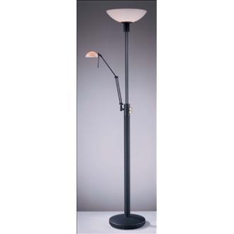 "George Kovacs Lighting P257-037 71-1/2""h Torchiere/Task Lamp"