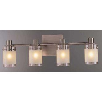 George Kovacs Lighting P5004-056 Contemporary Four Light Bath Fixture