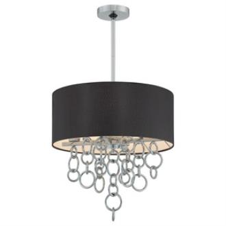 George Kovacs Lighting P400-5-077 Ringlets - Four Light Pendant