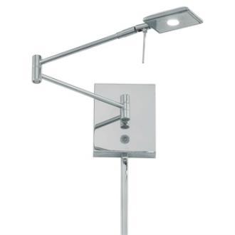 "George Kovacs Lighting P4328-077 13"" LED Swing Arm Wall Lamp"