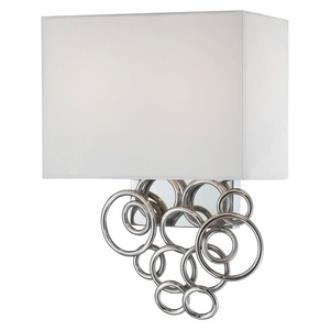 George Kovacs Lighting P612-3W-077 Ringlets - Two Light Wall Sconce