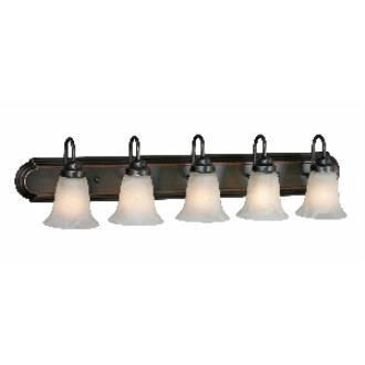Golden Lighting 5221-5 ORB 5 Light Vanity