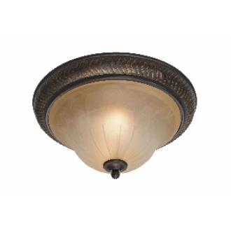 """Golden Lighting 6029-FM EB 15"""" Flush"""