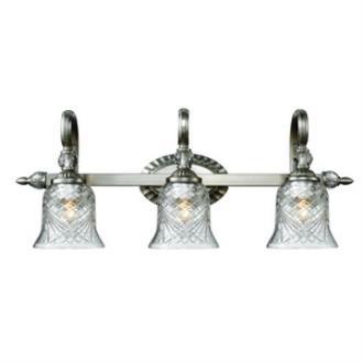 Golden Lighting 8118-BA3 PW Alston Place - Three Light Bath Vanity