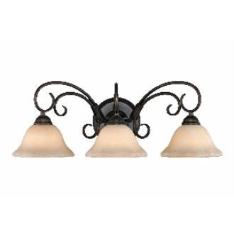 Golden Lighting 8603 RBZ 3 Light Vanity