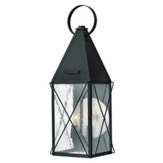 Hinkley Lighting 1844BK York - Two Light Medium Outdoor Wall Mount