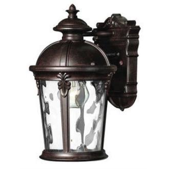 Hinkley Lighting 1890RK Windsor Brass Outdoor Lantern Fixture