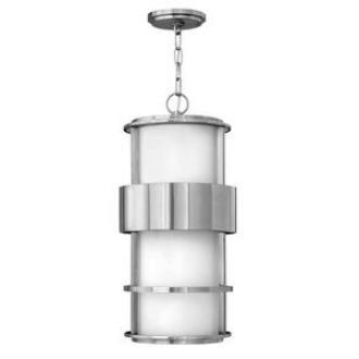 Hinkley Lighting 1902SS Saturn - One Light Outdoor Hanging Lantern