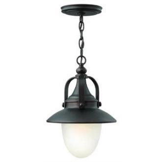 Hinkley Lighting 2082SB-LED Pembrook - One Light Outdoor Hanging Lantern
