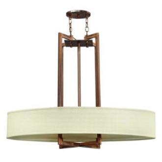 Hinkley Lighting 3208BR Hampton Four Light Chandelier
