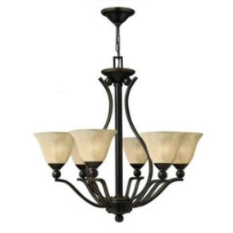 Hinkley Lighting 4656OB Bolla 6lt Chandelier