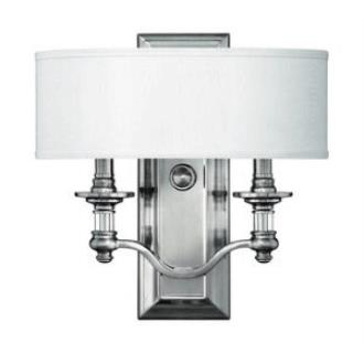 Hinkley Lighting 4900BN Sussex Two Light Wall Sconce