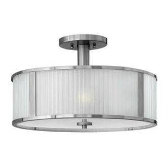 Hinkley Lighting 4971BN Midtown - Three Light Semi-Flush Mount