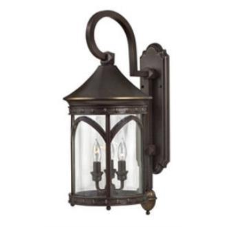 Hinkley Lighting 2314CB Lucerne Brass Outdoor Lantern Fixture