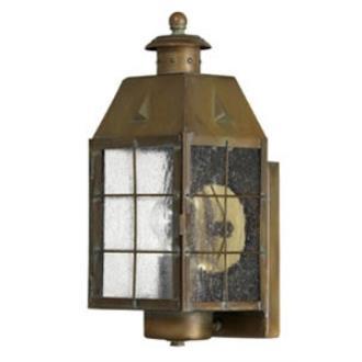 Hinkley Lighting 2370AS Nantucket Brass Outdoor Lantern Fixture
