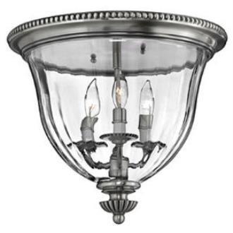 Hinkley Lighting 3612PW Cambridge Flush Mount