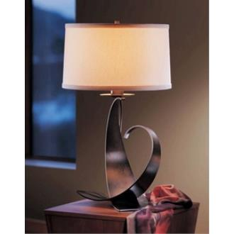 Hubbardton Forge 27-2678C Fullered Impressions - One Light Large Table Lamp