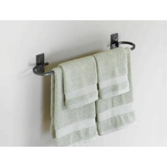 """Hubbardton Forge 84-1016 Metra - 21"""" Curved Towel Holder"""