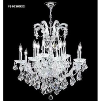 James Moder Lighting 91030 Maria Theresa Grand - Twelve Light Chandelier
