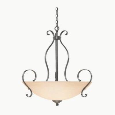 Jeremiah Lighting 14445-BST Brookfield - Five Light Inverted Pendant