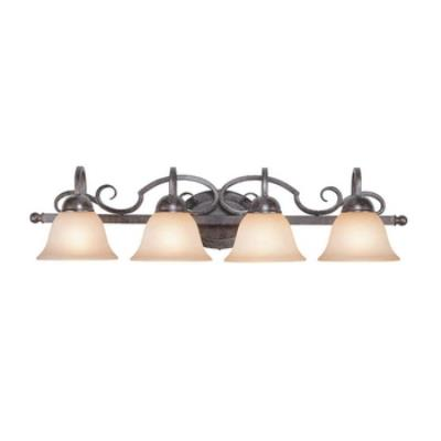 Jeremiah Lighting 22004-FM Sheridan - Four Light Vanity