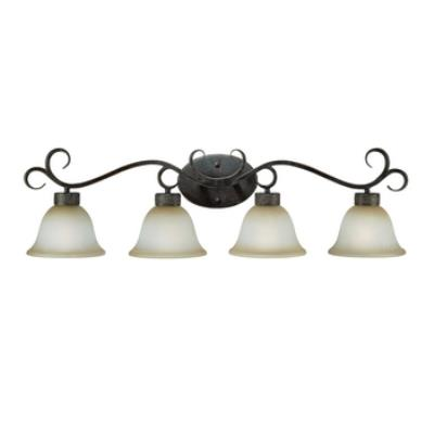 Jeremiah Lighting 23604-BA Brookshire Manor - Four Light Vanity