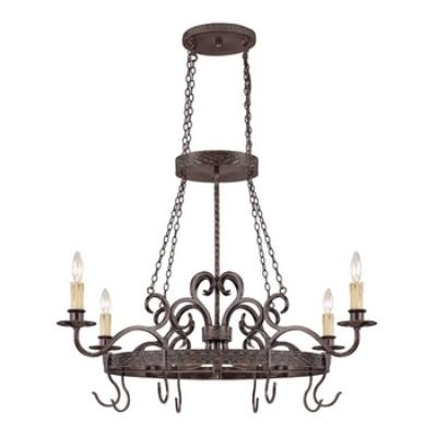 Jeremiah Lighting 23634-BA Brookshire Manor - Four Light Ceiling Fixture