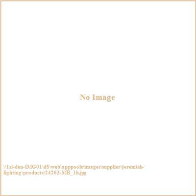 Jeremiah Lighting 24263-MB Barret Place - Three Light Semi-Flush Mount