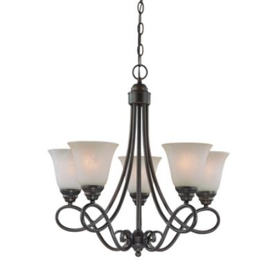 Jeremiah Lighting 25025 Cordova - Five Light Chandelier