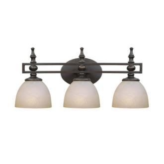 Jeremiah Lighting 25403-OB Seymour - Three Light Vanity