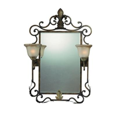 Jeremiah Lighting 25722-BBZ Devereaux - Two Light Mirror