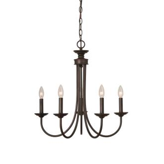 Jeremiah Lighting 26125-BZ Spencer - Five Light Chandelier