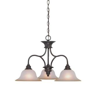Jeremiah Lighting 26323-OB Linden Lane - Three Light Down Chandelier