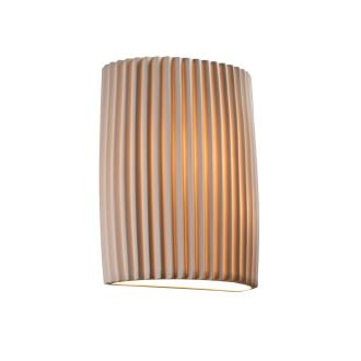 Justice Design POR-8857 ADA Small Cylinder Wall Sconce