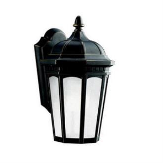 Kichler Lighting 11010RZ Courtyard - One Light Outdoor Wall Mount