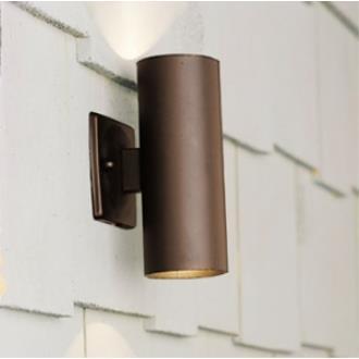 Kichler Lighting 15079AZT Two Light Wall Wash