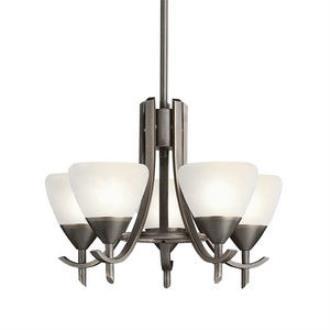 Kichler Lighting 1678OZW Olympia - Five Light Chandelier