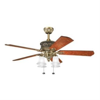 "Kichler Lighting 300161BAB Corinth - 52"" Ceiling Fan"