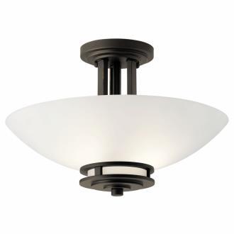 Kichler Lighting 3674OZ Hendrik - Two Light Semi-Flush Mount