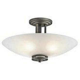 Kichler Lighting 3677OZ Hendrik - Four Light Semi-Flush Mount