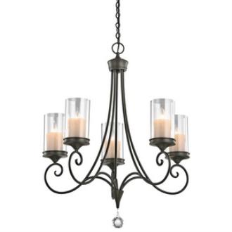 Kichler Lighting 42861SWZ Laurel - Five Light Chandelier