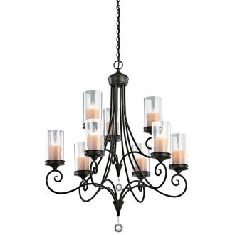 Kichler Lighting 42863SWZ Laurel - Nine Light Chandelier