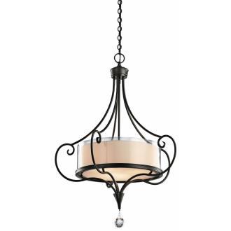 Kichler Lighting 42864SWZ Laurel - Three Light Inverted Pendant