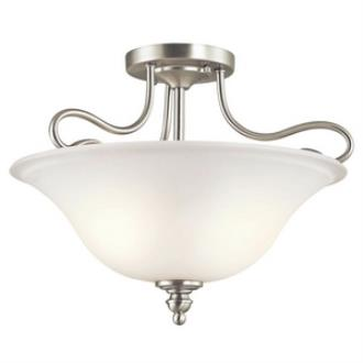Kichler Lighting 42900NI Tanglewood - Two Light Semi-Flush Mount
