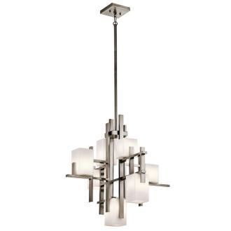 Kichler Lighting 42940CLP City - Seven Light Chandelier