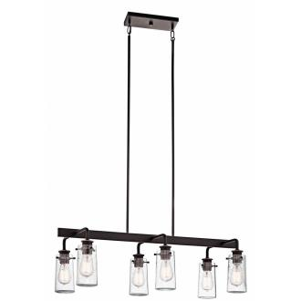 Kichler Lighting 43059OZ Braelyn - Six Light Linear Chandelier