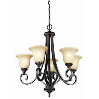 Kichler Lighting 43156OZ Monroe - Five Uplight Chandelier