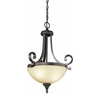 Kichler Lighting 43163OZ Monroe - Two Light Inverted Pendant
