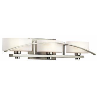 Kichler Lighting 45317NI Three Light Bath Bar